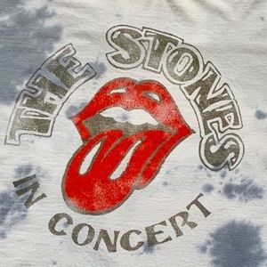 The Rolling Stones Tie-dye graphic band T-shirt